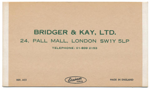 Bridger & Kay Stockcard