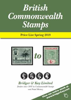 British Commonwealth Stamps - Bridger & Kay - Since 1897
