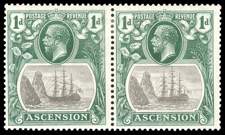 ASCENSION, KGV, SG. 11, 11b