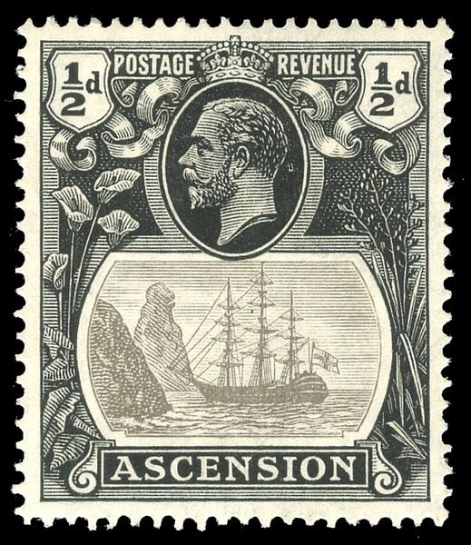 ASCENSION, KGV, SG. 10c